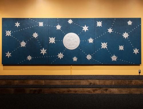 "Scott Garner's interactive artwork ""Reach"" for the Children's Museum of Pittsburgh."